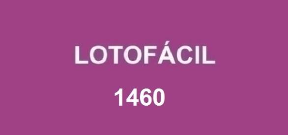 Resultado do sorteio 1460 da Lotofácil