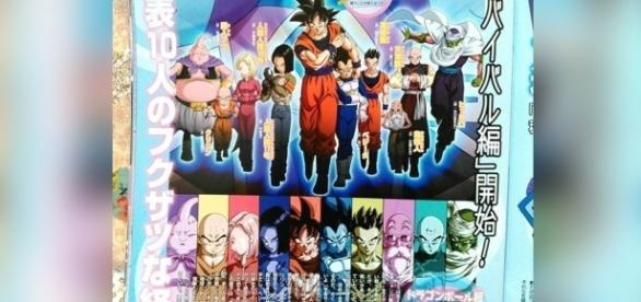Scan con información exclusiva de la nueva saga de Dragon Ball Super.