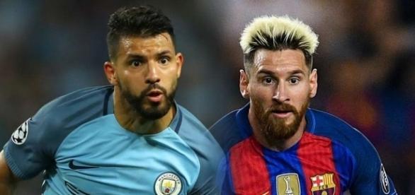 Sergio Aguero, Lionel Messi split - Goal.com - goal.com
