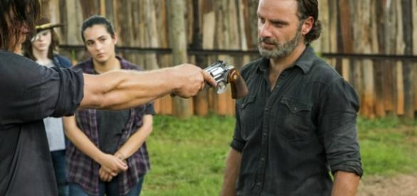 The Walking Dead : Rick prêt à reprendre les armes