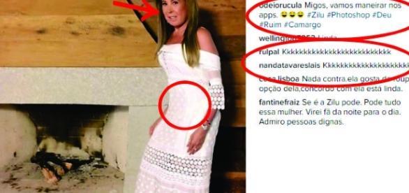 Zilu apaga foto após seguidores apontarem edição no corpo: 'Distorcida'. Veja!
