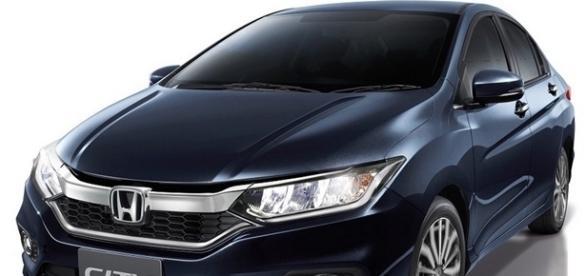 As mudanças estéticas do novo Honda City 2017 se concentram na frente