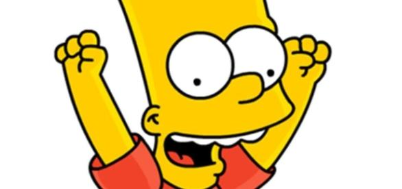 Conociendo el hijo varón de Los Simpson