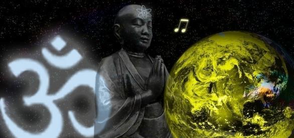 Das indische OM-Mantra und der Klang der Sonne weisen dieselbe Frequenz auf