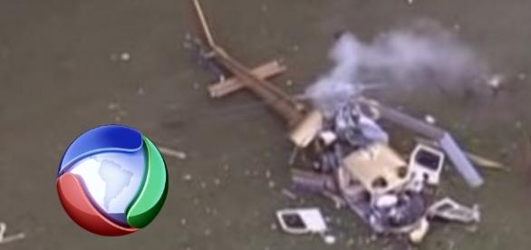 Erro derrubou helicóptero da Record