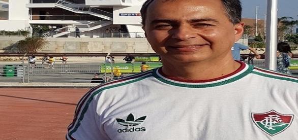 Fernando Veiga, vice-presidente de futebol do Fluminense (Foto: Net Flu)