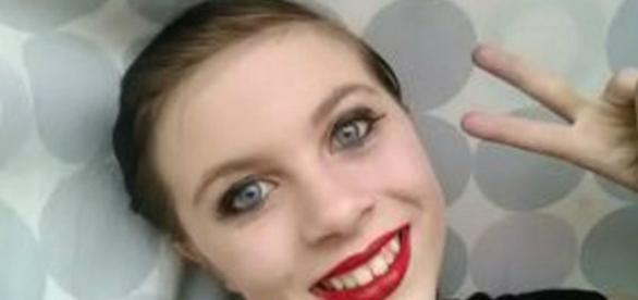 Katelyn Nicole Davis tinha somente doze anos