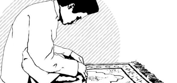 moslem praying illustration by eleanorhaviz on DeviantArt - deviantart.com