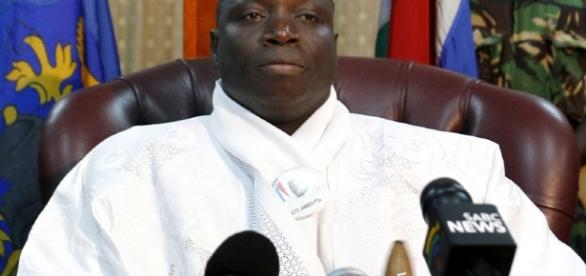 President Yahyah Jammeh of The Gambia