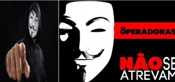 Anonymous lança ameaça as operadoras de internet fixa