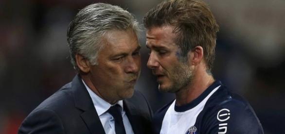 Beckham quase jogou no futebol brasileiro