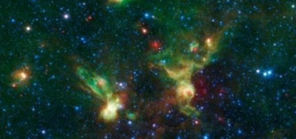Foto de la Nasa, tomada por la misión Spitzer Space Telescope