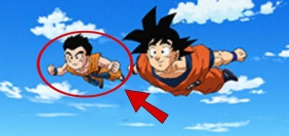 Goku y Krilin en el episodio 75.