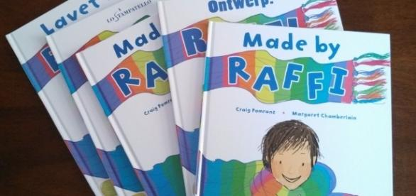 'Made by Raffi' is about a boy who likes to sew. / Photo via Craig Pomranz, used with permission.