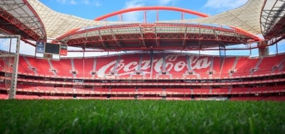 O Estádio da Luz é o palco do Benfica-Boavista