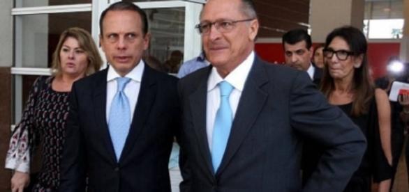 Prefeito João Dória e governador Geraldo Alckmin foram criticados por servidora em uma rede social