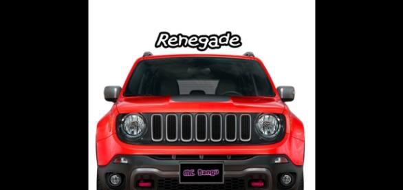 Capa do single Renegade, de MC Bangu, disponível em plataformas como a Apple Music