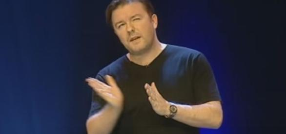 Ricky Gervais - The Bible / Photo screencap from Nuno Lopez, via Youtube