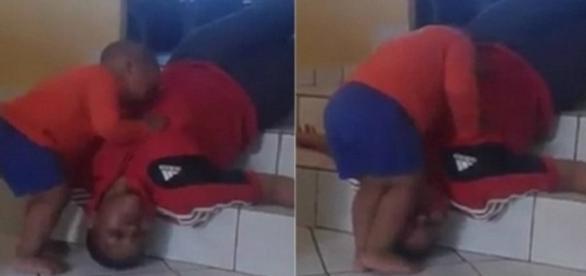 Vídeo polêmico em que tia se finge de morta enquanto bebê se desespera tentando reanimá-la.