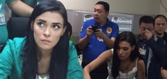 A bela jovem brasileira Yasmim Fernandes Silva que pode ser condenada a morte nas Filipinas
