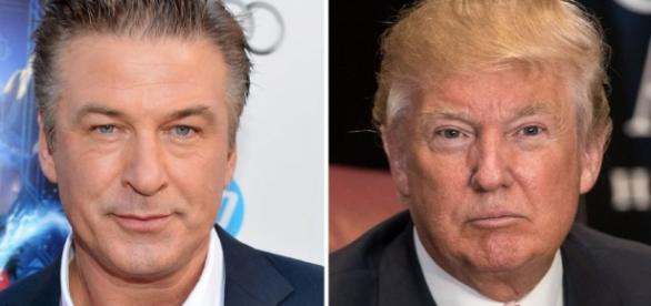 Alec Baldwin in direct line of being lashed at by Trump image source: Hollywood reporter