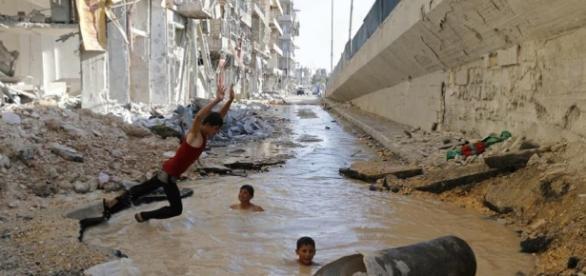 Alep : l'innocence malgré les bombes | Creative Memory - creativememory.org