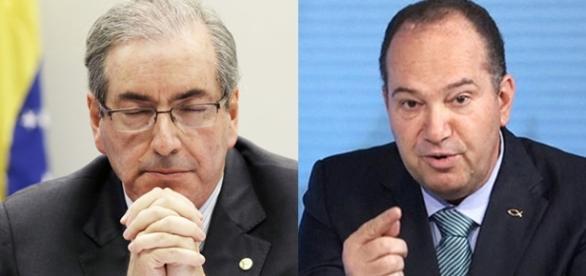 Eduardo Cunha e Pastor Everaldo