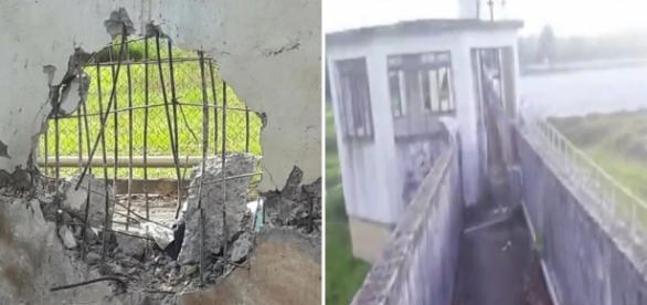 Explosão de muro em presídio do Paraná - Google