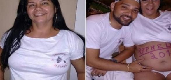 Falsa grávida é encontrada por polícia