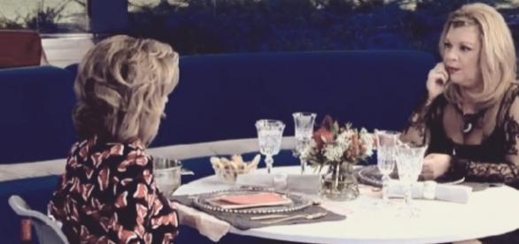 #Ghvip5: Terelu y Teresa Campos en la prueba semanal con Toño como camarero