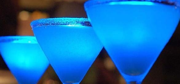 Il cocktail blu Angelo Azzurro
