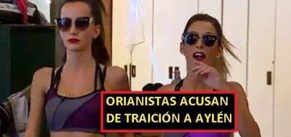 Orianistas en contra de Aylén Milla