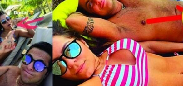 Thammy Miranda e namorada em fotos