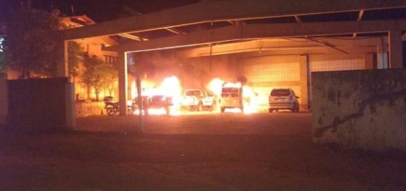 Além das rebeliões, foram registrados ataques em pelo menos 8 municípios no Rio Grande do Norte.