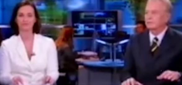 Âncora do SBT Repórter se atrapalha e não consegue terminar o programa