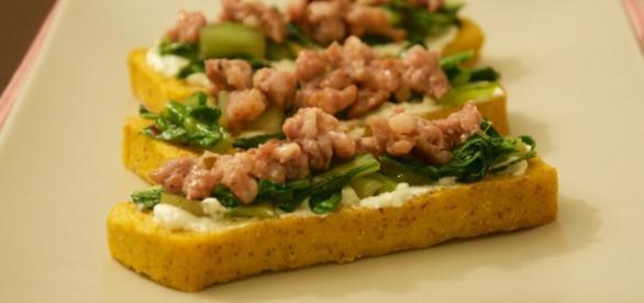 Barche agli spinaci per un aperitivo originale