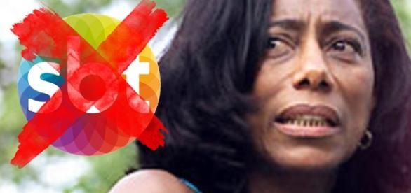 Gloria Maria é vítima de fofoca, no SBT