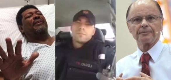 Policial afirma que Valdomiro (esquerda) e Edir Macedo são falsos profetas