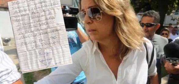 Viúva alega inocência em carta - Imagem/Google