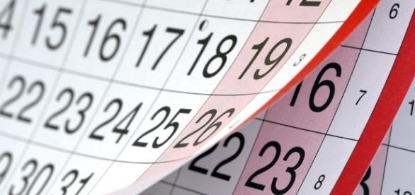 Calendário FGTS para contas inativas.