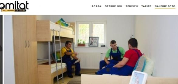 Inițiativă unică în România – Komitat, cazare pentru muncitorii relocați
