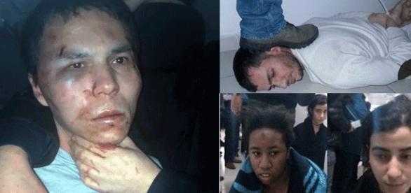 La police turque a confié diverses photos de l'auteur de la tuerie et de deux femmes arrêtées à des journaux pro-gouvernementaux