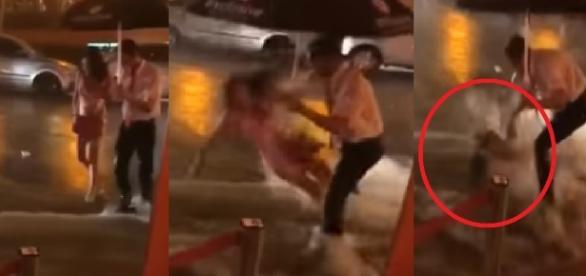 Mulher é levada por enxurrada, no Rio - Google