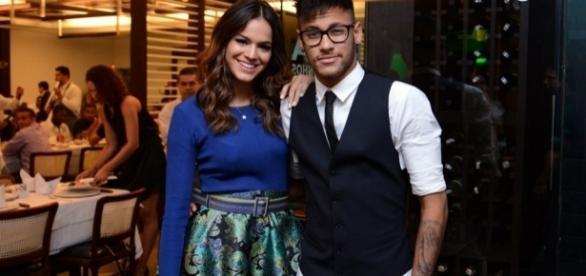 Neymar e Bruna Marquezine (Foto: PurePeople)