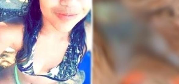A Polícia acredita que os autores do homicídio espalharam as fotos na internet.