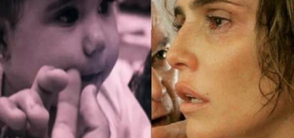 Deborah Secco e filha - Imagem/Google