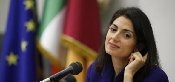 Il sindaco di Roma Virginia Raggi (M5S).