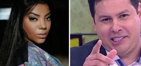 Marcão Chumbo Grosso fez comentário racista sobre a cantora Ludmilla.