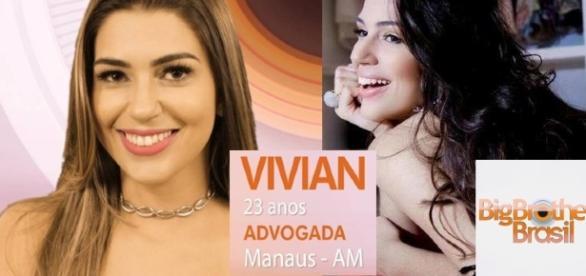 Participante Vivian Amorim está no BBB 17