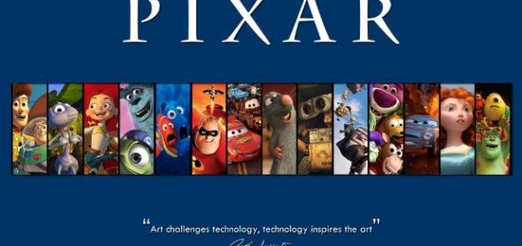 Pixar lança vídeo ligando seus filmes - foto Pixar